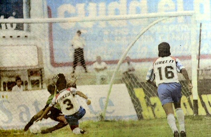 Gol de Mario Ortiz